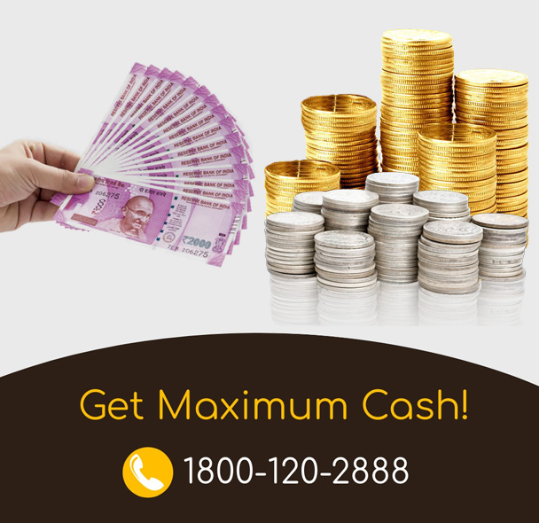 cash for silver & gold coins in delhi