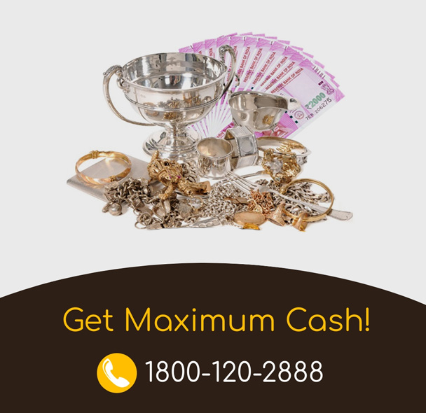 Cash For Silver Gurgaon, Noida, Ghaziabad, and Faridabad
